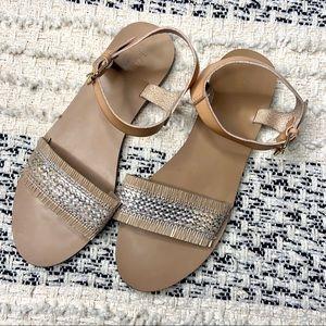 3/$30 j. Crew factory sandals knit size 9
